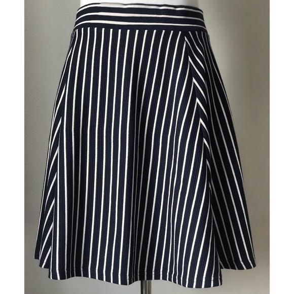 Divided Dresses & Skirts - Divided Stripe A-Line Skirt